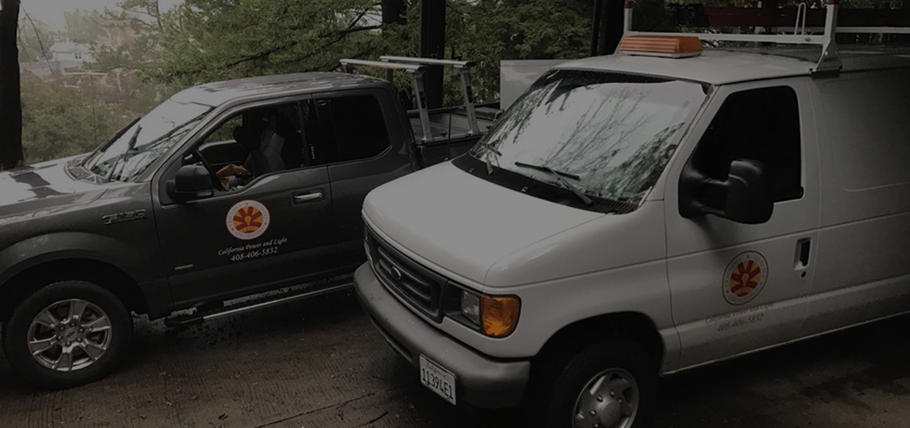 Light van and pickup of California Power & Light