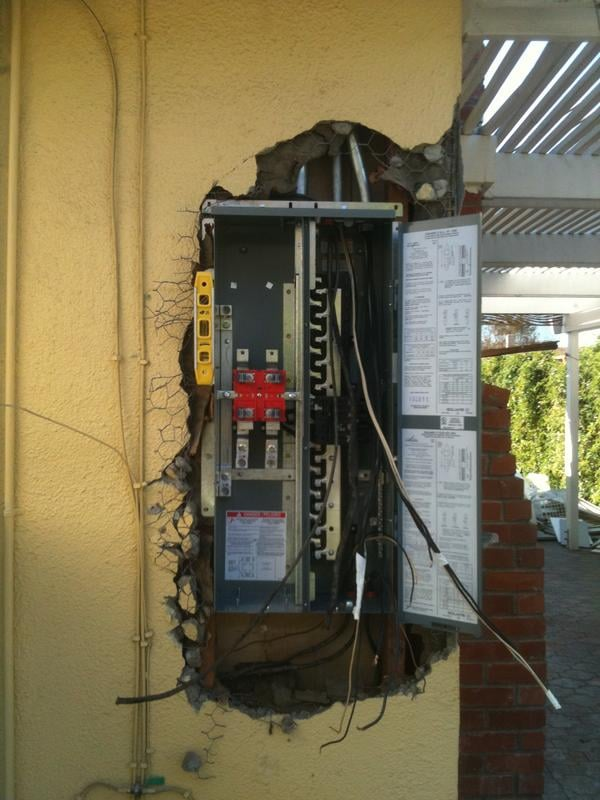 California Power and Light Electrical Panel Upgrade 23